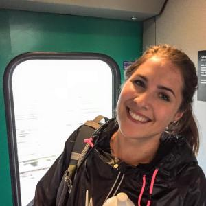 """""""I am au-pair here in Zurich for two months. About Switzerland I like the landscape the most and love to go for a walk. But somehow I don't feel at home here and am therefore happy to go back home next month."""""""